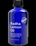 radha lemon essential oil